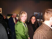 Woodside gallery, Art exhibition opening